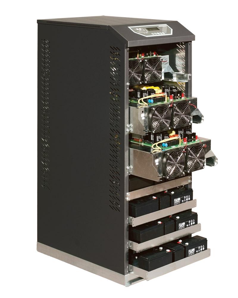 Borri B8031FXS-B8033FXS 10-20 kVA internal view