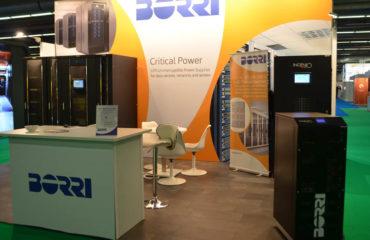 Data Centre World Frankfurt - Borri Stand