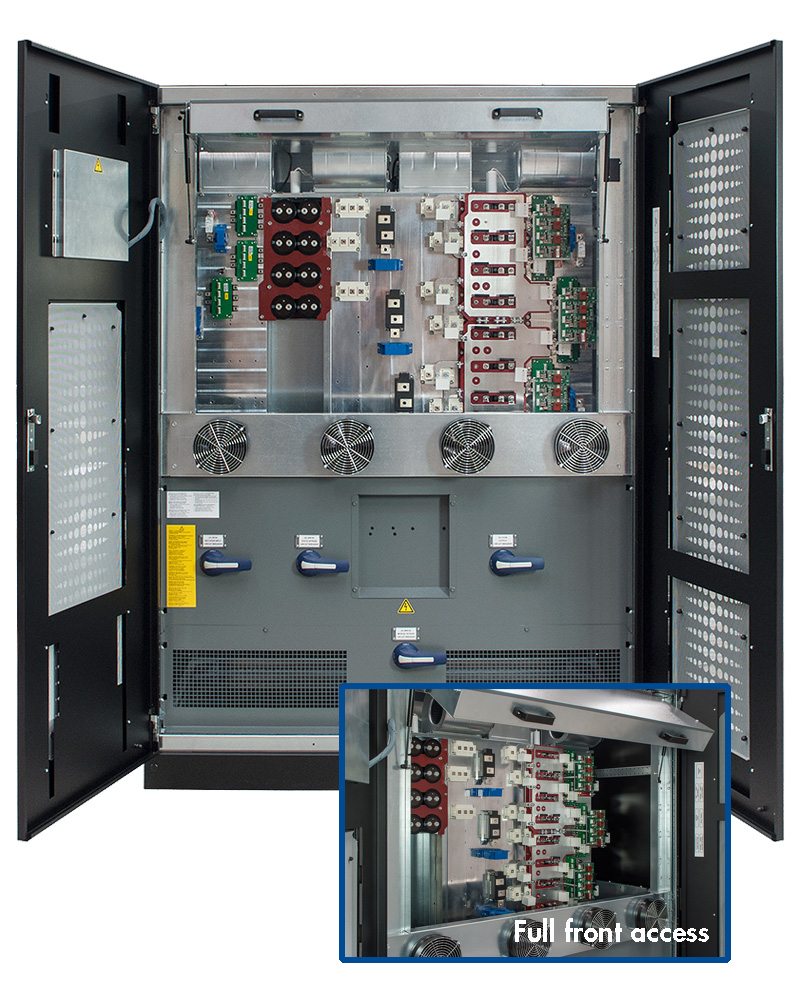 Borri Ingenio MAX UPS 400-500 kW inside view