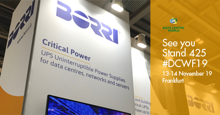 Borri Data Centre World Frankfurt 2019