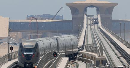 Borri AC-DC UPS's Doha Metro